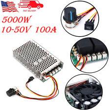 10 50v Reversible Dc Motor Speed Controller Pwm Motor Speed Controller 100a New