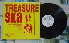 Treasure Ska VA LP Skatalites Justin Hinds Monty Morris Baba Brooks VG+/VG++