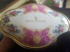 Royal Doulton Floral Clock Great Look