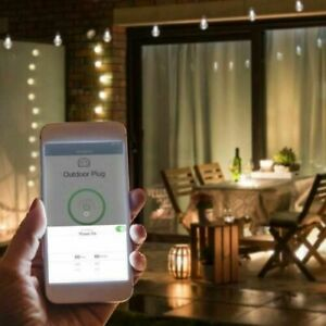 Feit Wi-Fi Smart Outdoor Plug 2-pack, NEW
