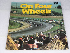 ON FOUR WHEELS mag PART 131 The encyclopedia of motoring in weekly issues- 1970s