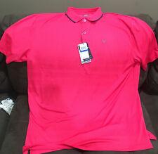 $70 NWT XL RASPBERRY Callaway Opti-Dri Golf Men's LARGE Golf Polo Shirt