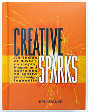 Creative Sparks An Index of 150+ Concepts Images & Exercises Design Krause NEW