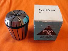"""NOS REGO-FIX ER 40 5 mm 3/16 COLLET 1140.05000,  range: 5-4mm, .1969"""" - .1575"""""""