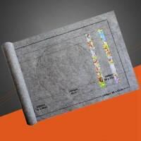 26 * 46 Zoll Puzzle-Aufbewahrungsmatte Roll-Up-Puzzle-Filz für bis zu 1500 S Neu