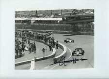 Jacques Laffite Williams FW09 Dallas Grand Prix 1984 Signed Press Photograph