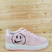NIKE AIR FORCE 1 LOW GS 'Have a Nike Day' PINK/BLACK AV0742 600 SZ 6.5Y / WMNS 8