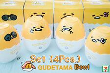 Gudetama Plastic Bowl Set (4 Pcs) / Promotion Limited 7-11 Shop in Thailand only