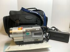 Sony Handycam CCD-TR818 Hi8 460x Digital Zoom With Instructions Tested And Works