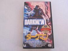 DARKMAN Sam Raimi Liam Neeson japanese  movie VHS japan