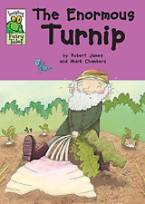 The Enormous Turnip (Leapfrog Fairy Tales), James, Robert, Good Condition Book,