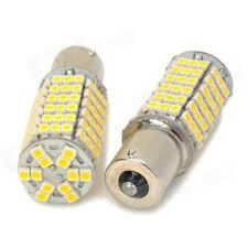 2x warm white 1156 120 smd 3528 led Auto light bulbs US ship fast