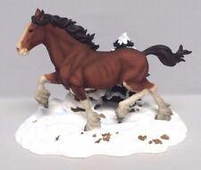2000 Running Free Budweiser Clydesdale Winter figurine CLYD12