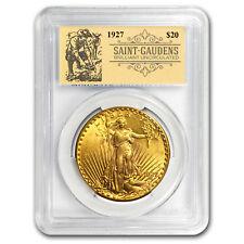 1927 $20 Saint-Gaudens Double Eagle BU PCGS (Prospector Label) - SKU#151078