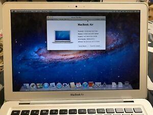 Apple MacBook Air (Original) 2008 Intel Core 2 Duo 1.6GHz 2GB 80GB MAC OS X Lion