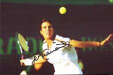 Jennifer Capriati - Tennis - Original Autogramm Autograph auf groß Foto (K-7419+