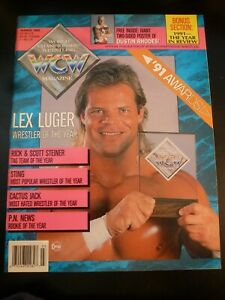 WCW World Championship Wrestling 3/1992, Lex Luger Cover Dustin Rhodes Poster