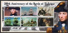 SOLOMON MNH 2005 SG1087-92 200th Anniversary of the Battle of Trafalgar