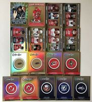 Lot of 17 08-09 2008-09 OPC O-Pee-Chee Inserts w/ Stat Leaders Team Checklists +