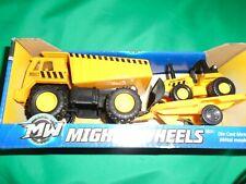 Mighty Wheels Dump Truck & Bulldozer 2013 Diecast