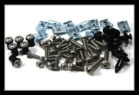Yamaha YZF R125 Stainless Steel Fairing & Screen Bolt Hardware Fixings Set Kit