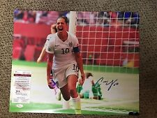 Carli Lloyd Signed 16x20 Photo w JSA/COA