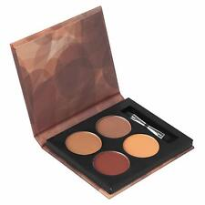 Coastal Scents Long Lasting Eyebrow Palette - 4 Shades w/Mini Dual Ended Brush