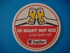 Beer Bar Coaster <> Brasserie Piedboeuf Jupiler Bier ~ Jupille-sur-Meuse,BELGIUM