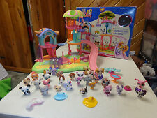 LITTLEST PET SHOP WHIRL AROUND PLAYGROUND PLAYSET W BOX PIECES & MANY EXTRAS