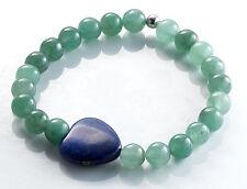 Unbehandelte Gefädelte Echte Edelstein-Armbänder mit Lapis Lazuli