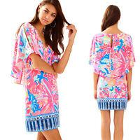 NWT Lilly Pulitzer Gabrielle Dress Multi Playa Hermosa