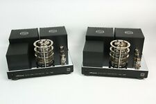 A pair of extremely rare Phase (early PhaSt) 3301A/Triode Se 6C33 amplifiers