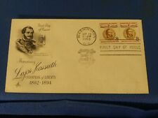 Scott #1118 8 Cent Stamps Honoring Lajos Kossuth First Day Issue