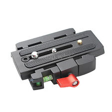 Quick Release Clamp Adapter QR Plate P200 For Manfrotto 501 500AH Q5 701HDV 577