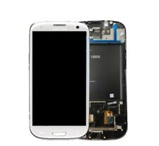 Display Lcd Touch Screen Frame Originale Samsung Galaxy s3 LTE i9305 Bianco