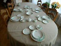 Sango China Sango Ivy Dinnerware Set for 6 with 4 Serving Pieces +extra      5-1