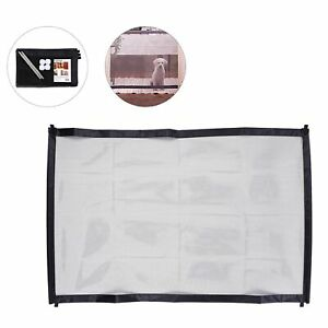 Magic Gate for Dog Portable Folding Net Dogs Barrier Fence Safety Guard Pets