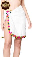 LA LEELA Women's Large Size Beach Holiday Half Sarong Yoga Mat Wrap Short...