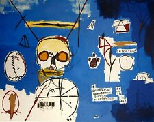 Jean-Michel Basquiat, Untitled Skull B 1984, Hand Signed Lithograph