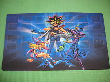 YuGiOh Playmat - YuGi Moto / Dark Magician Girl -  Brand New Custom Mat