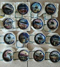 Titanic Queen of the Ocean Bradford Exchange Collector Plates Complete Set 16