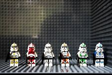 Star Wars Minifigures Clone Troopers Figures Army 501st Mini figures Custom Lego