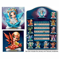 Perpetual Calendar Jasmine Becket-Griffith Fairy Figurine Set of 2 - Issue One