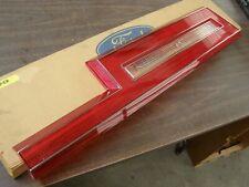 NOS OEM Ford 1980 1981 1982 Thunderbird Tail Light Lamp Lens T-Bird Trim Cracked