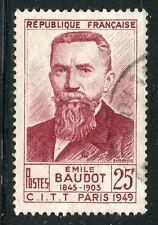 stamp / TIMBRE FRANCE OBLITERE N° 846 / CELEBRITE / EMILE BAUDOT