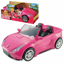 Barbie Glam Convertible Car Sparkly Pink Vehicle Play Toy Gift Idea Fun Age: 3+