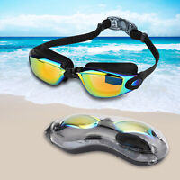 Googles Speed o Swimming Goggles Clear For Kids Adult Men Youth UV Protection T3