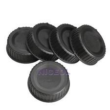 5Pcs Plastic Rear Lens Cap Cover for All Nikon AF AF-S DSLR SLR Camera LF-4 Lens