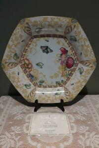 Stunning Spode England Mera Serving Tray - Sumatra - Butterflies - Limited - Vgc