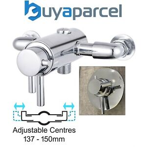 Dual Control Thermostatic Concealed Shower Mixer Valve - 137mm to 150mm Centres